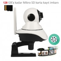 GT-IP37HD WiFi Hareketli IP Kamera