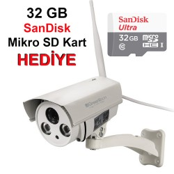 GT-IP57HD WiFi Dış Mekan IP Kamera